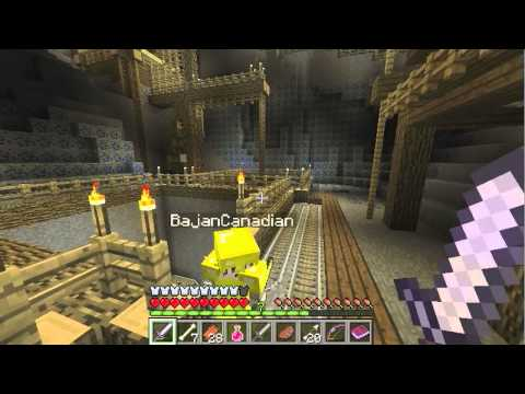 Minecraft: Wrath of the Fallen Adventure w Jerome Mitch Part 2