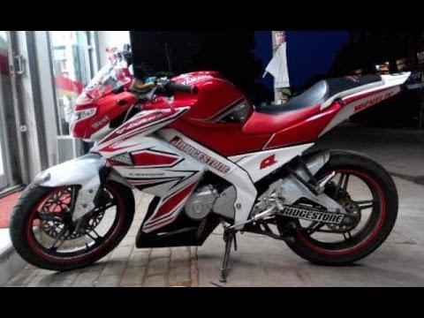 Motor Trend Modifikasi   Video Modifikasi Motor Yamaha New Vixion Lightning Striping Terbaru