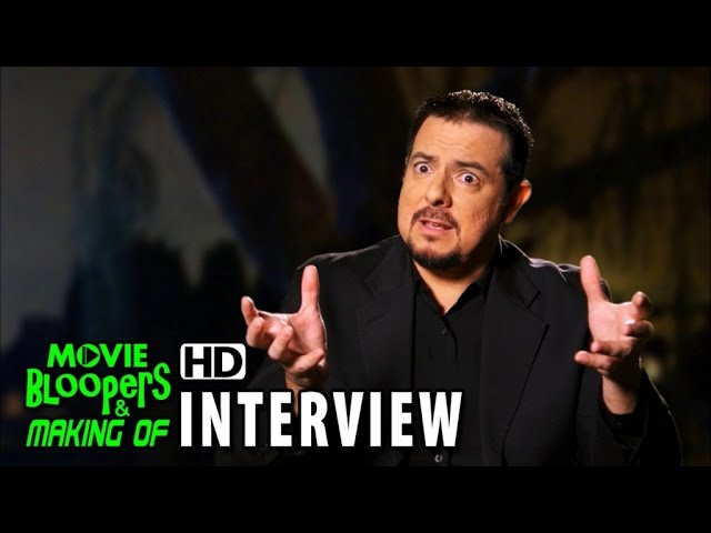 Poltergeist (2015) Behind the Scenes Movie Interview - Christopher Chacon (Parapsychologist)