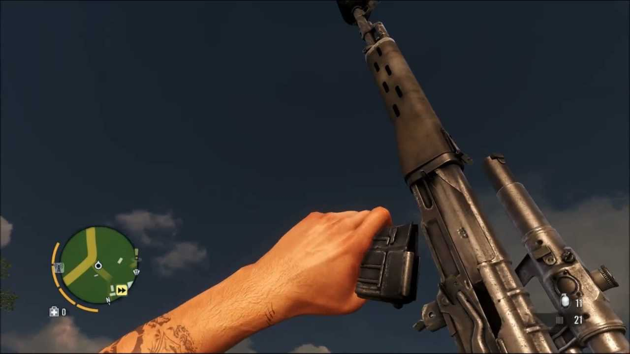 Far Cry 3 Weapons Mod Far Cry 3 Weapon Attachment