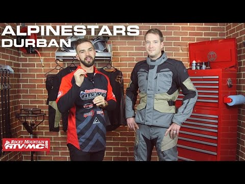 Alpinestars Durban ADV/Dual Sport Motorcycle Jacket