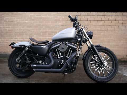 Harley Davidson Iron 883 Blacked Out ▶ Harley Davidson Iron 883