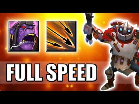 Max Attack Speed Tactic in Ability Draft [Chemical Rage] Dota 2