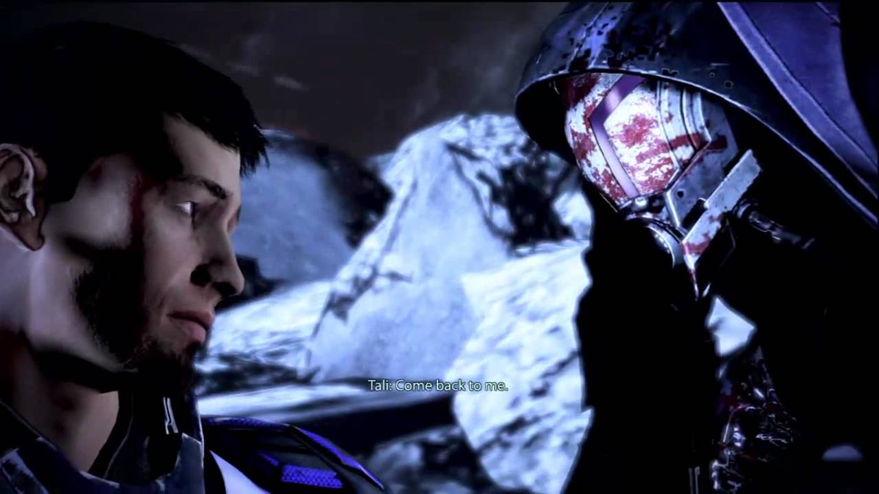 mass effect 3 extended cut goodbye to tali youtube. Black Bedroom Furniture Sets. Home Design Ideas