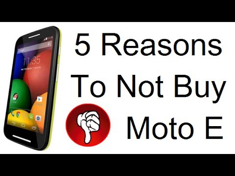 Moto E Review- 5 Reasons To NOT Buy #MotoE