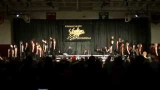 Des Moines Lincoln Infinity Show Choir 2014 at Extravaganza 2014 in Emmetsburg