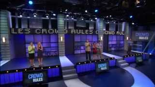 Who will win $50k when the CROWD RULES?