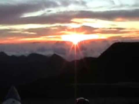 Haleakala, Maui February 14, 2008 Video