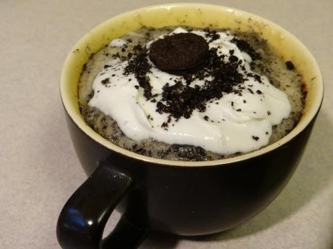 Cookies and Cream Mug Cake