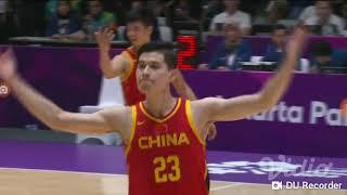 Asian Games 2018 Basketball 5x5 Men 4Q FINAL China v IR Iran #ASIANGAMES2018