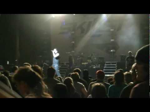 Ben Kasica Guitar Solo Into Skillet's Monster Live in Scranton, PA April 15th 2010