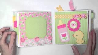 Doodlebug Baby Girl Mini Album