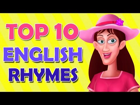 Top 10 English Rhymes || 3d Animation || Nursery Rhymes For Children video