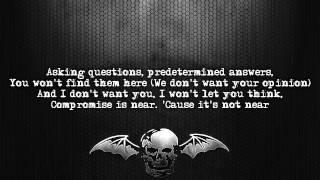 Watch Avenged Sevenfold Desecrate Through Reverance video
