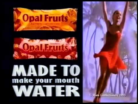 Opal Fruits Ice Cream advert (1995)