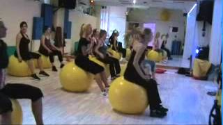 Fit Ball - Dynamic & Shape warsztaty AFP 15.12.2013
