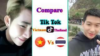 TikTok Battle : Vietnam & Thaland -  เปรียบเทียบ Tik Tok Vietnam และ Thailand