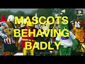 10 Football mascots behaving badly