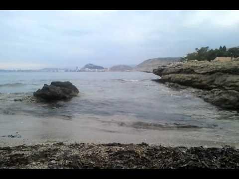 La Calita Cabo Huertas Alicante | Playas Rocas Aguas Tranquilas