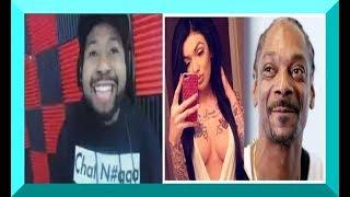 dj akademiks GOES OFF on Celina for Snoop Dogg & L&HH