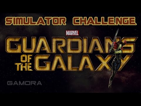Marvel Avengers Alliance: Guardian Gamora Simulator Challenges