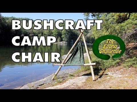 Amazing Wilderness Camp Chair (Bushcraft Chair)