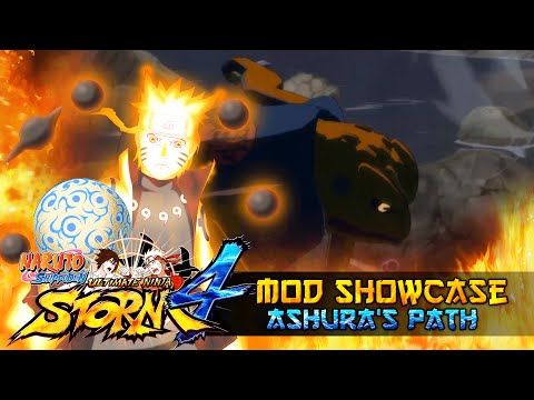 OVER 9000!!! Naruto's Ashura Path!!! Naurto Shippuden Ultimate Ninja Storm 4 Mod thumbnail