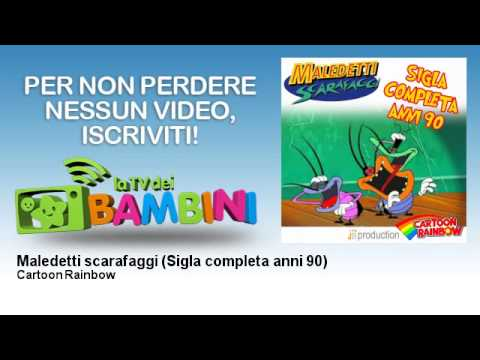 Cartoon Rainbow - Maledetti scarafaggi - Sigla completa anni 90 - LaTvDeiBambini