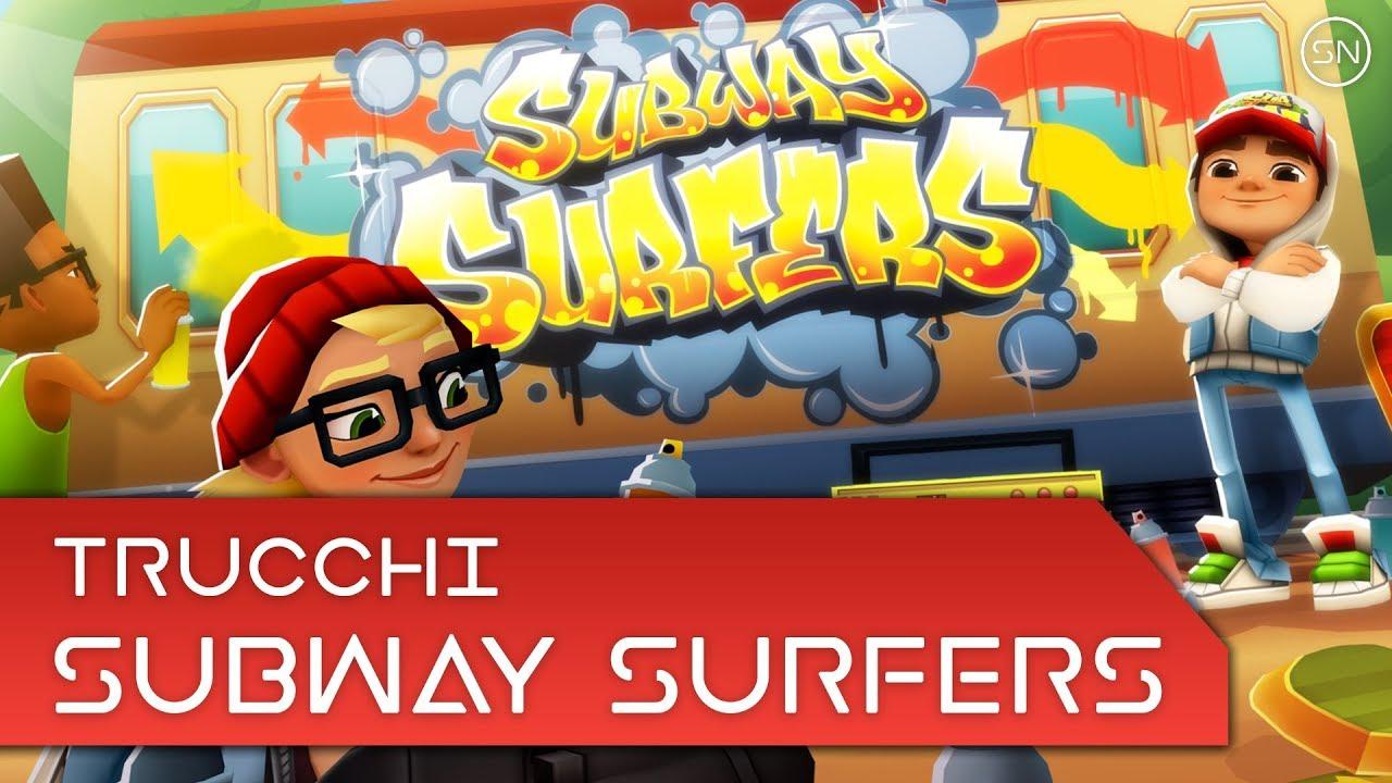 Trucchi - Subway Surfers : chiavi e soldi infiniti (update 05/12/2014