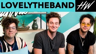lovelytheband Slid Into Corinne Olympios' DM's And She Replied!! | Hollywire