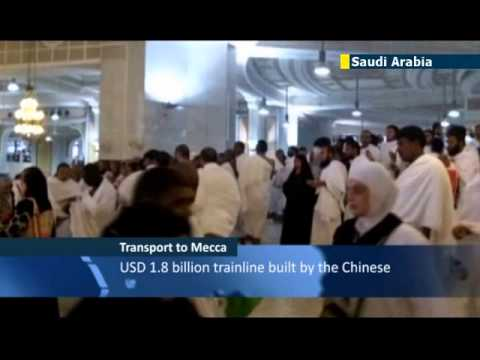 Mecca Metro gives pilgrims a ride to holy sites