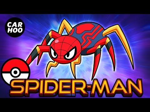 What If Spider-man Was A Pokemon【Marvel's Avengers Infinity War Parody】