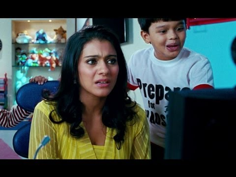 Kajol Starts Panicking Looking At The Devtoons - Toonpur Ka Super Hero