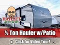 (Sold) UPDATED 2020 Octane 273 Half Ton Jayco Toy Hauler Travel Trailer