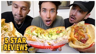 Eating At The BEST Reviewed Sandwich Deli Restaurant In My City (Los Angeles)