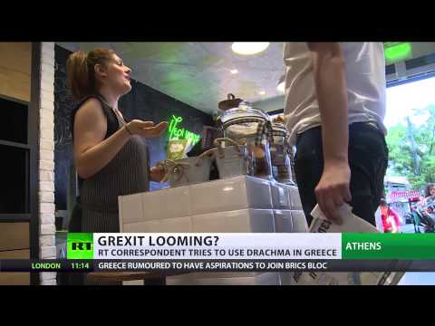 RT tests Greeks' faith in Drachma in post-referendum Athens