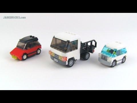 Lego Small Vehicle Mocs 9 25 2013 Youtube