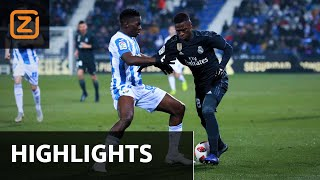 Leganés vs Real Madrid | Copa del Rey 2018/19 | Samenvatting
