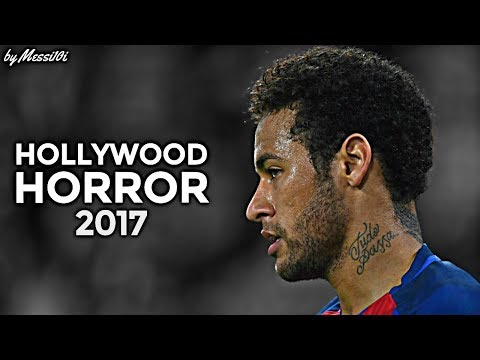 Neymar JR 2017 ▶ Hollywood Horror ◀ CRAZY Skills & Goals 2016/17 | HD NEW