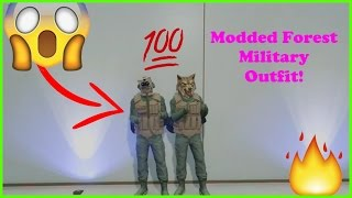 GTA 5 - HOW TO CREATE A MODDED FOREST MILITARY OUTFIT - PATCH 1.34