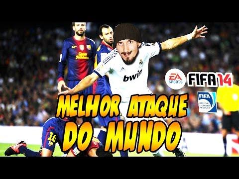 MELHOR ATAQUE DO MUNDO - UT FIFA 14 PS4 (Convidados Especiais)