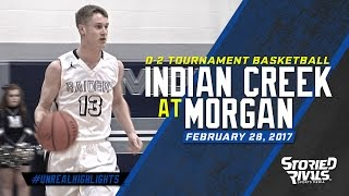 HS Basketball | Indian Creek at Morgan [TOURNAMENT] [2/28/17]