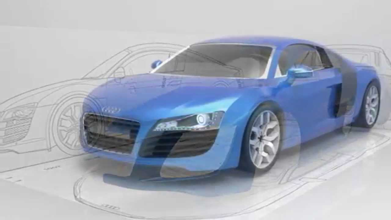 Car Modeling in Sketchup Audi