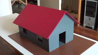 HOW TO MAKE A WOODEN MODEL HOUSE VERY VERY VERY SIMPLE