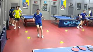 FB Table Tennis Coordination, agility and speed 1