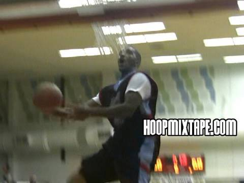 JR Smith Shows The Bounce At The Vince Young Celebrity Basketball Game Video