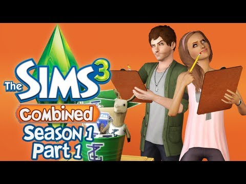 "Let's Play The Sims 3 : Combined - S1 P1 - ""University Life"""