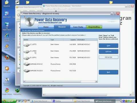 Power Data Recovery Kurulum Ve Kullanım
