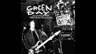 Green Day - 88 3 FM Radio Broadcast, Brookward Hall, Ohio, USA (1993)