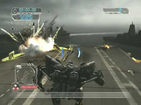Transformers 2: Revenge of the Fallen Free Roam Gameplay With Starscream